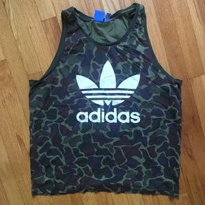 Men's Adidas tank camouflage XL